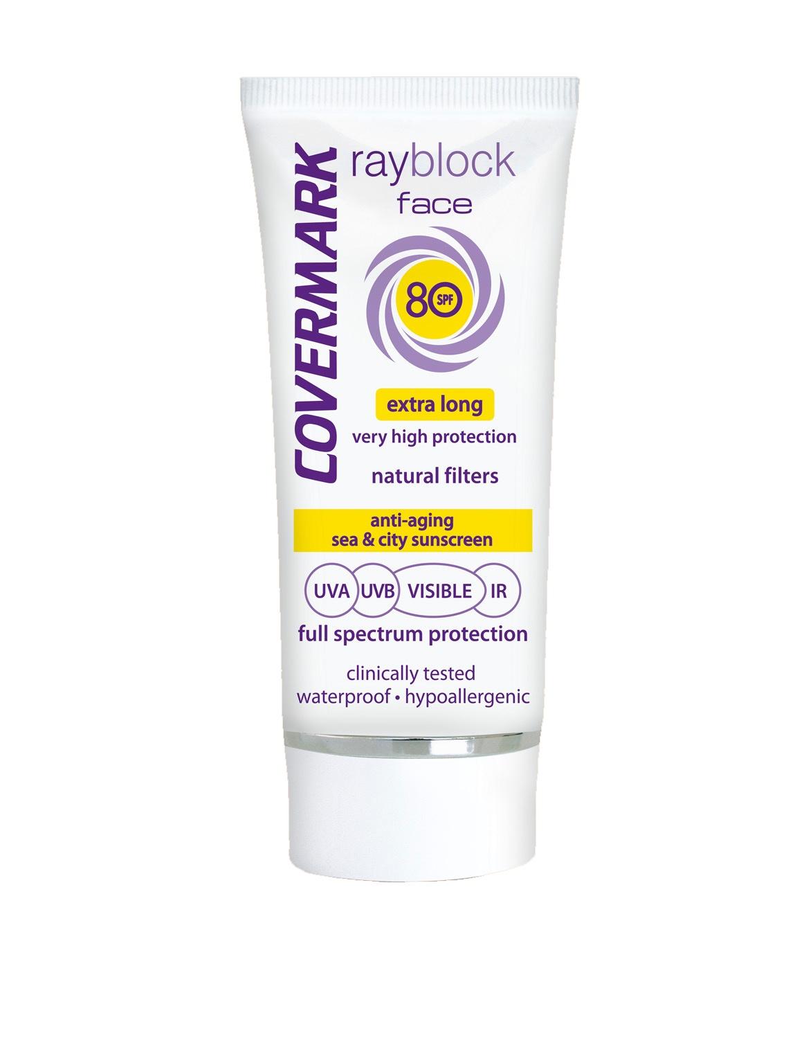 Солнцезащитный крем для лица SPF 80 COVERMARK светло-бежевого тона