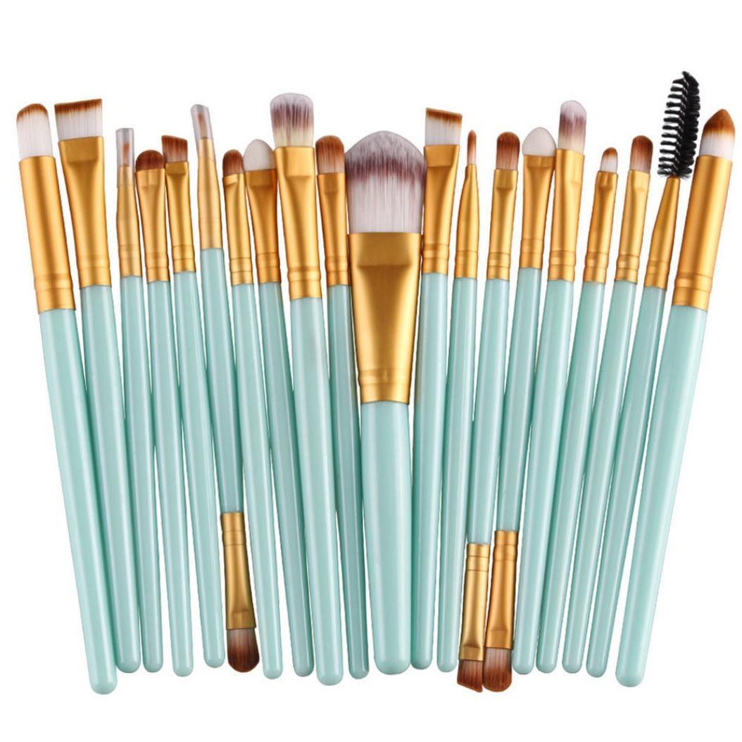 20шт Профессиональный набор кистей для макияжа недорого