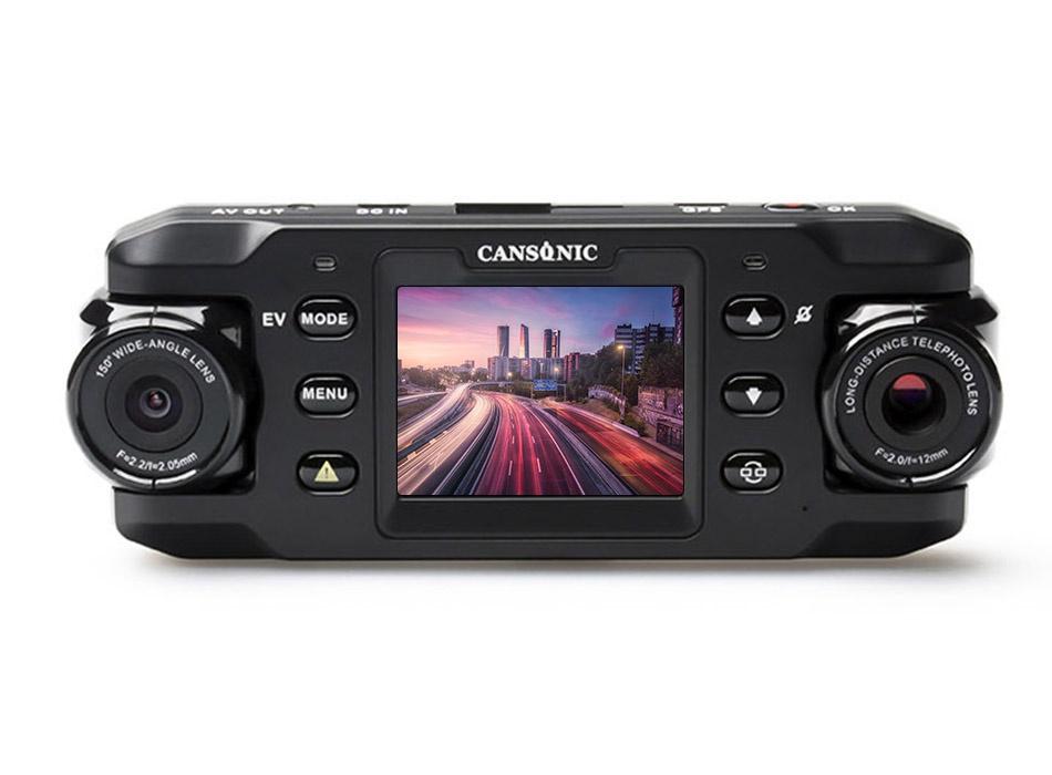 Cansonic Z1 Zoom GPS, Black видеорегистратор cansonic z1 zoom gps
