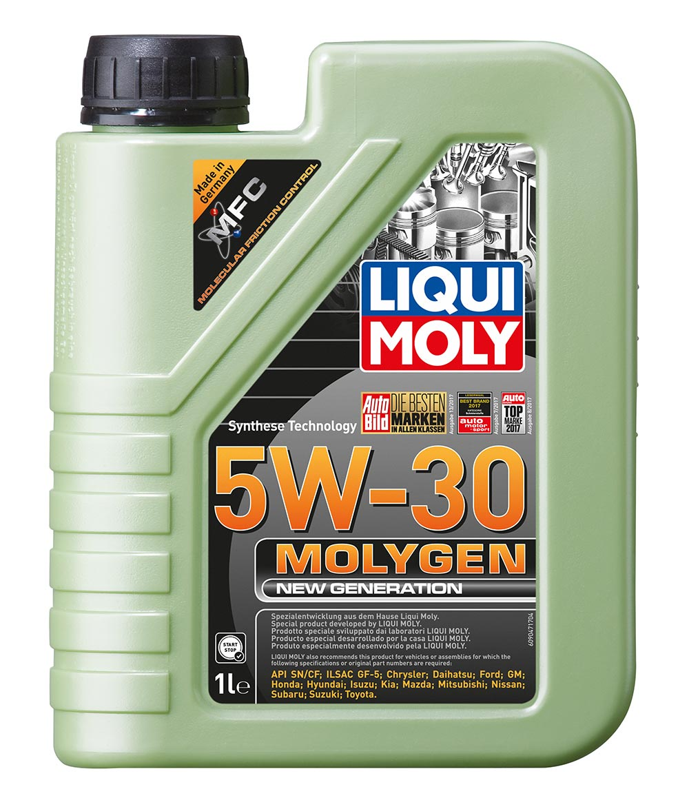 Масло моторное синт. Molygen New Generation 5W-30 (1л)