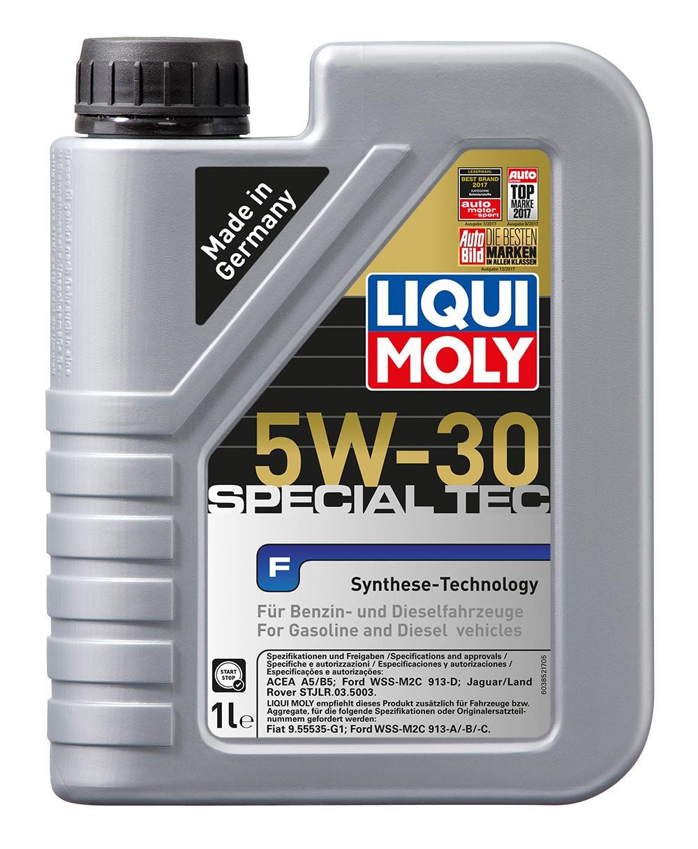 Масло моторное синт. Special Tec F 5W-30 (1л)