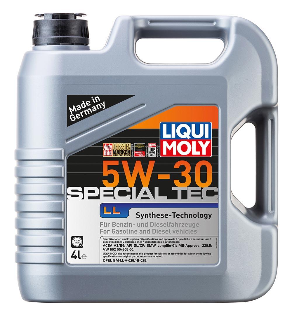 Масло моторное синт. Leichtlauf Special LL 5W-30 (4л) пластик