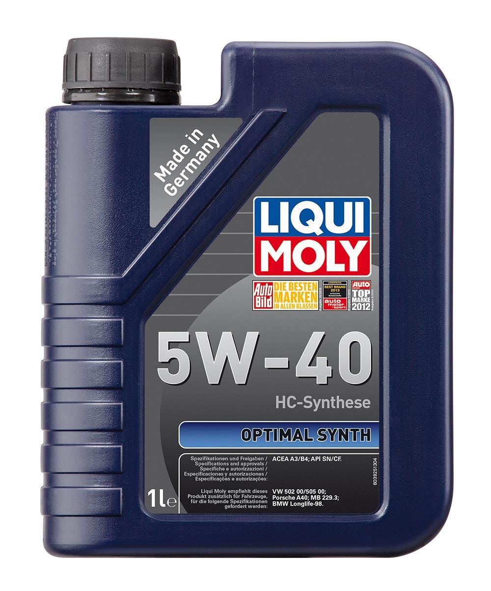 Масло моторное синт. Optimal Synth 5W-40 (1л)