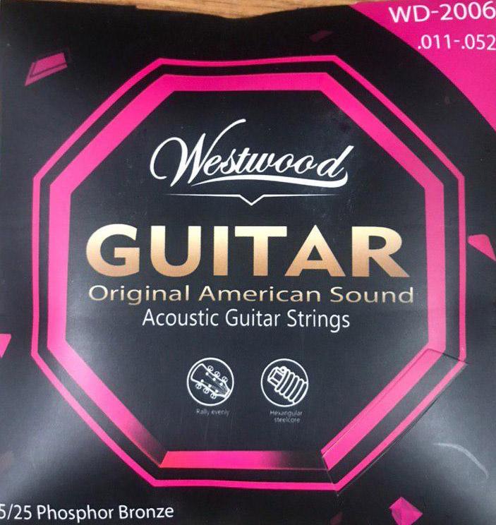 WESTWOOD 011 - Струны для акустической гитары