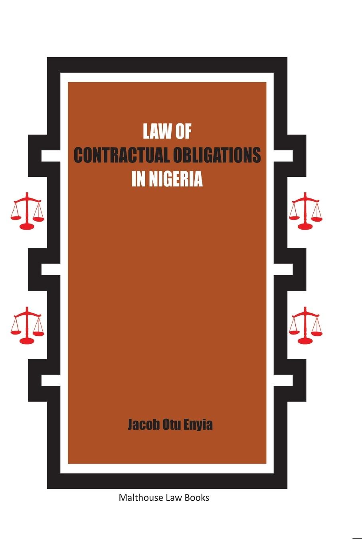 цены на Jacob Otu Enyia Law of Contractual Obligations in Nigeria  в интернет-магазинах
