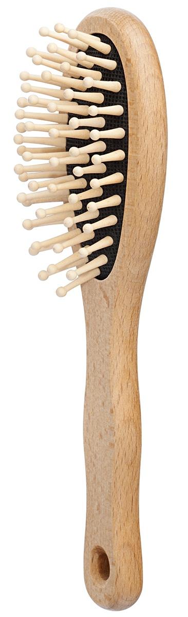 FOERSTERS Щетка для волос с деревянными зубчиками малая деревянные расчески