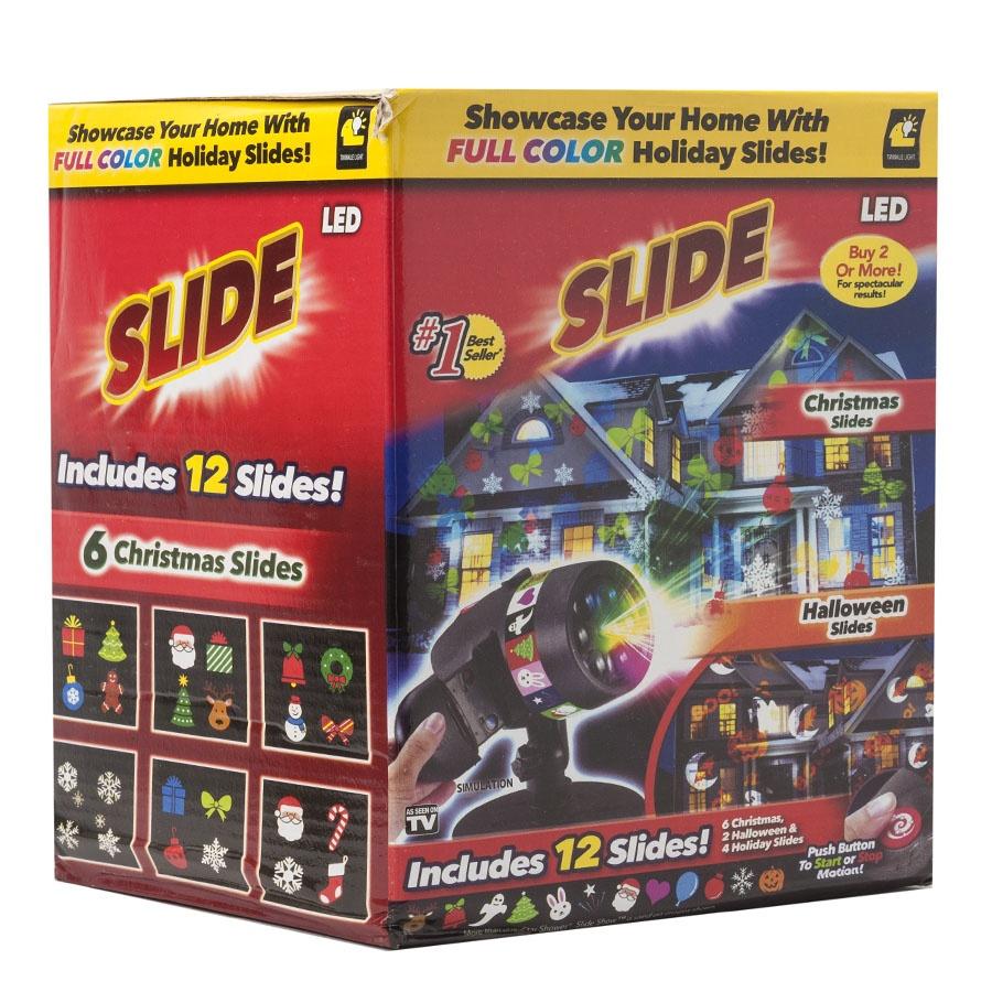 Лазерный проектор Star Shower Slide Show 12 слайдов Нет бренда