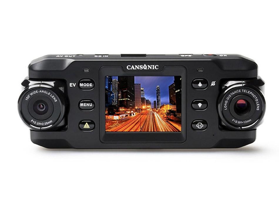 Cansonic Z1 Zoom, Black видеорегистратор cansonic z1 zoom gps