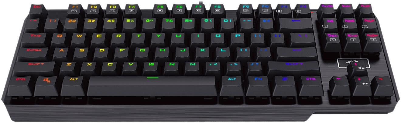 лучшая цена Механическая клавиатура Redragon Usas RU,подсветка,Outemu,компактная