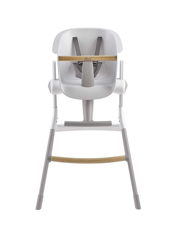 Beaba Стульчик для кормления Up&Down High Chair, Grey/White