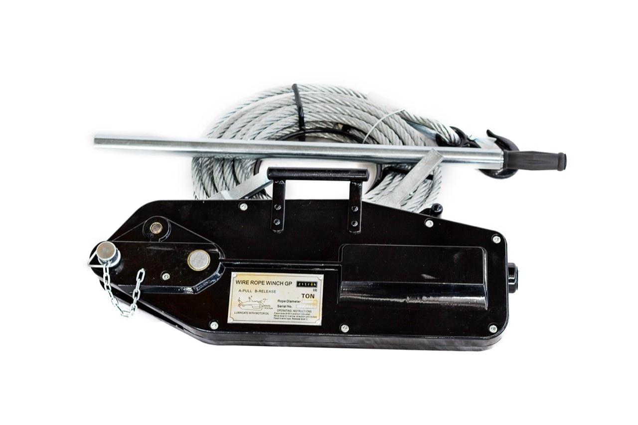 Монтажно-тяговый механизм Zitrek МТМ г/п 5,4тн. L-20 м. цены