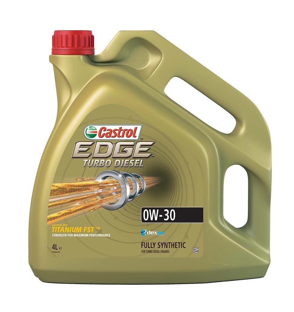 Масло моторное синт. EDGE Turbo Diesel Titanium FST 0W-30 (4л)