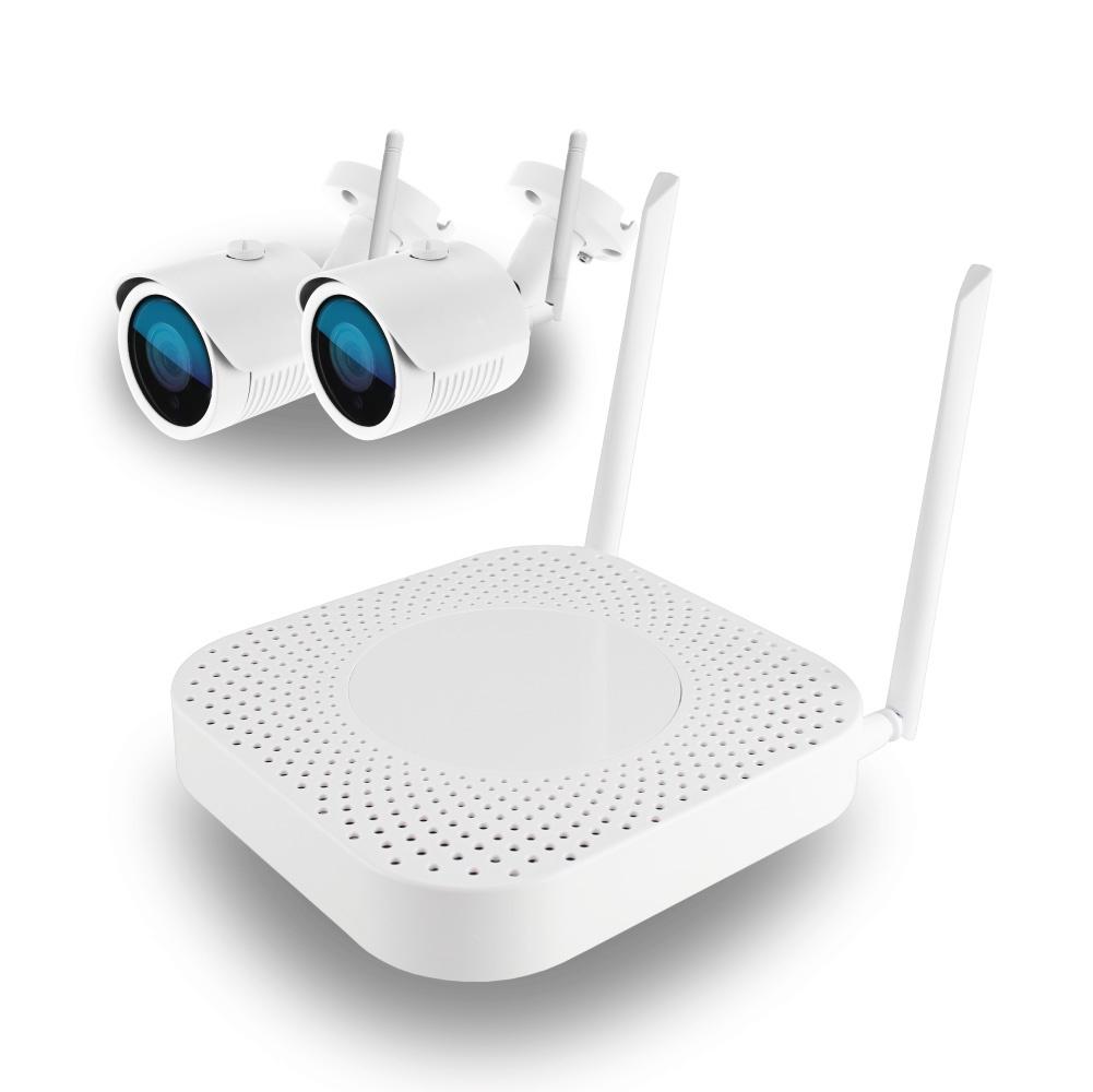 Комплект WiFi HK-420W,4ch, 1080P, HDMI, 2улич кам 1.0Mp, IR30м регистратор видеонаблюдения ginzzu hd 412 4 канальный 1080n гибридный 3 в 1 видеорегистратор 4ch dvr nvr 1080n hdmi vga bnc 2usb lan