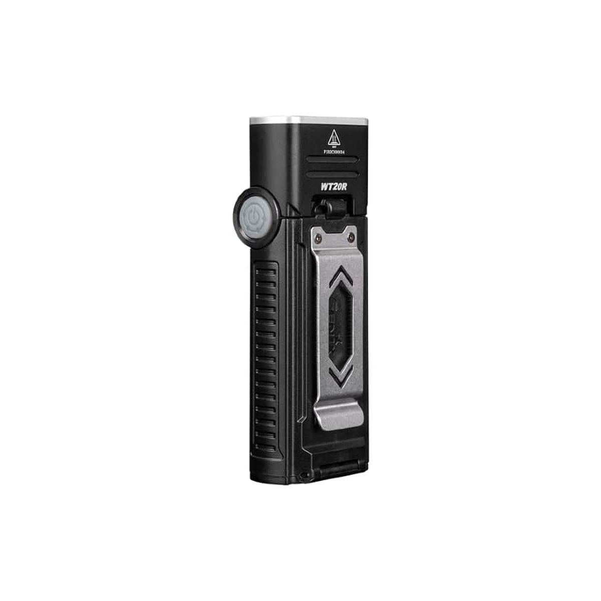 Ручной фонарь Fenix WT20R, черный