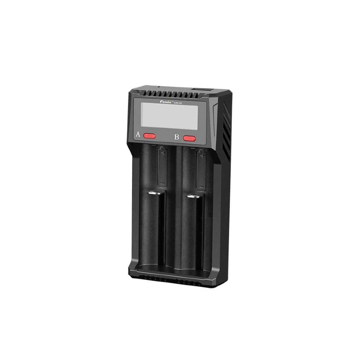 Зарядное устройство для аккумуляторов Fenix ARE-D2, черный