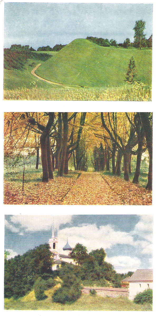 Наборы открыток о пушкинском заповеднике по мнению многих