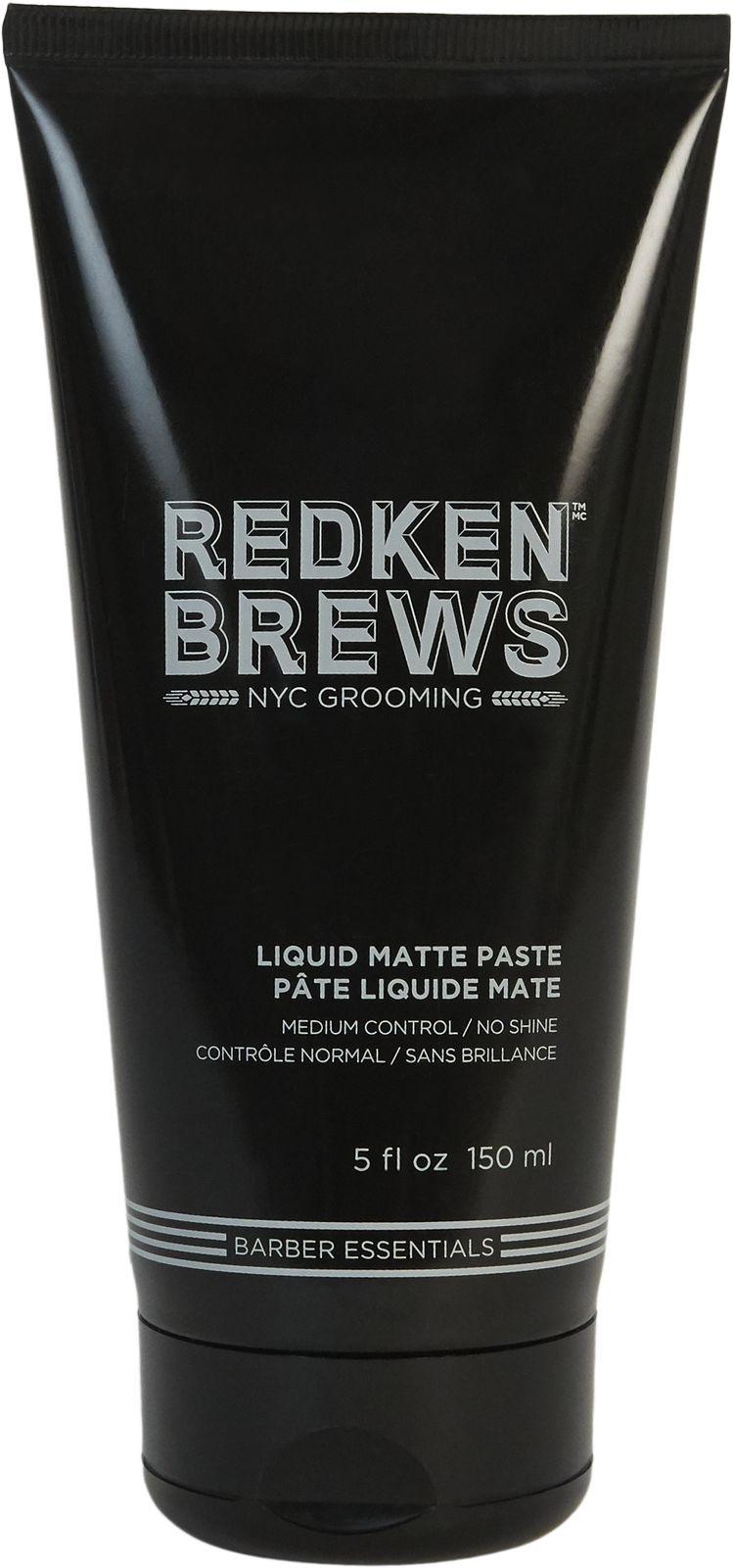 Паста Redken Brews Liquid Matte, для фиксации и матового финиша, 150 мл