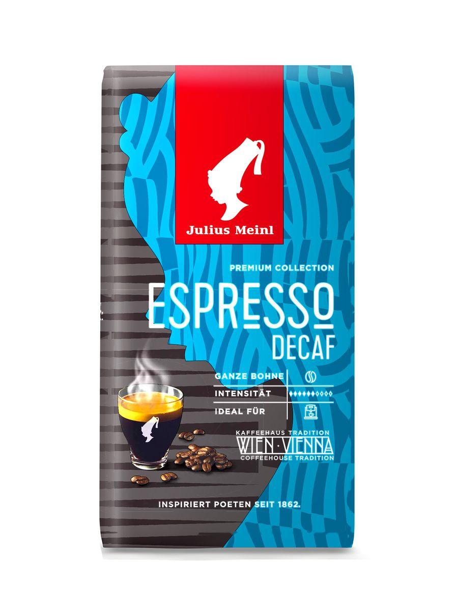 Кофе в зернах Julius Meinl Эспрессо Декаф Премиум Коллекция, 250 г цена