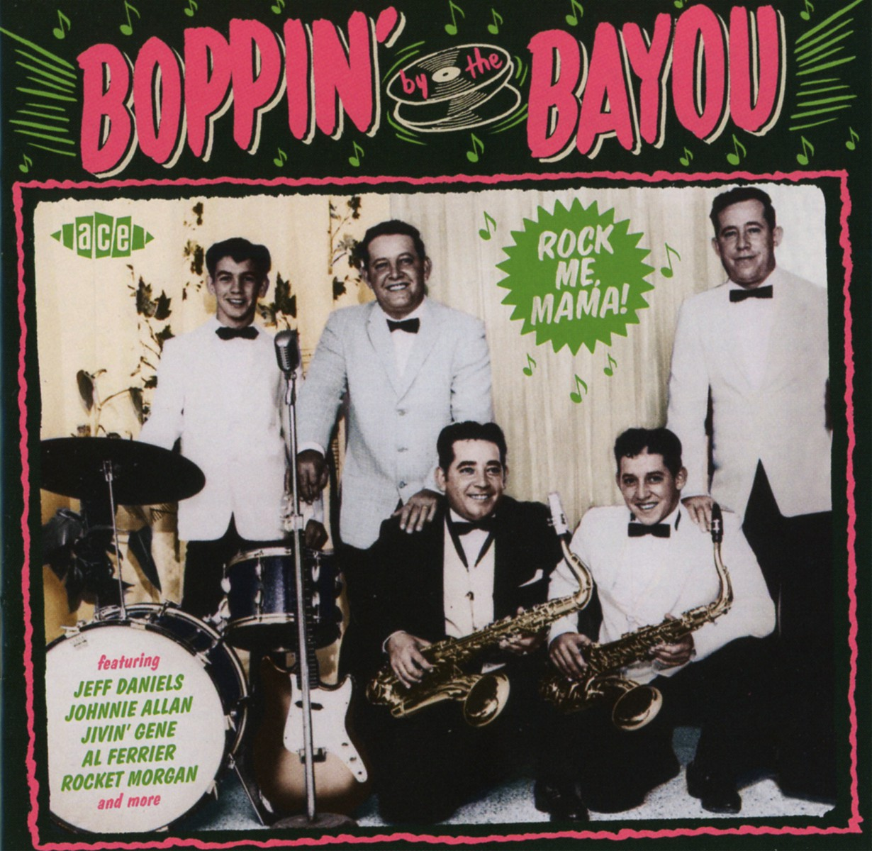 Various Artists. Boppin By the Bayou - Rock Me Mama!