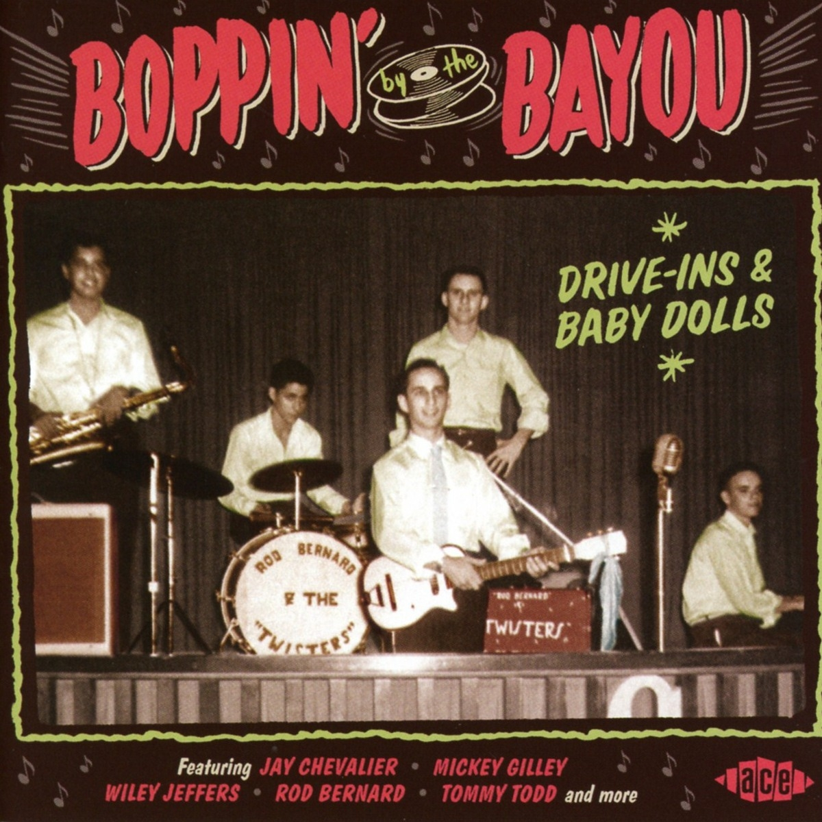 Various Artists. Boppin By The Bayou - Drive-Ins & Baby Dolls