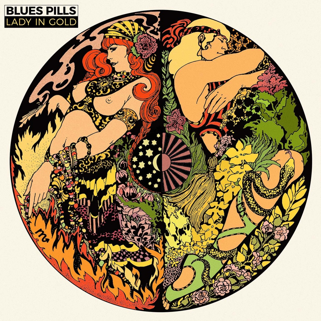 Blues Pills Blues Pills. Lady In Gold (2 CD + DVD + LP) desert blues ambiance du sahara 2 cd