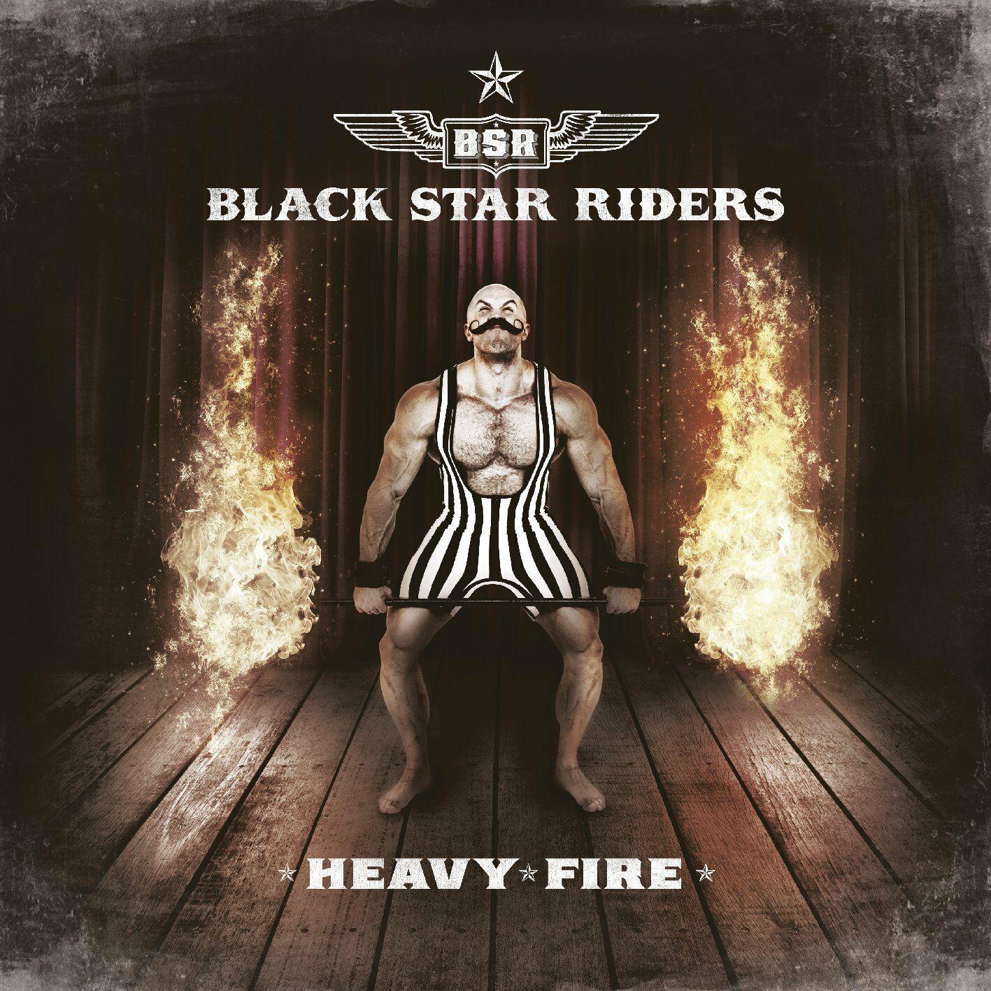 Black Star Riders Black Star Riders. Heavy Fire худи black star wear black star wear mp002xw1ioi8