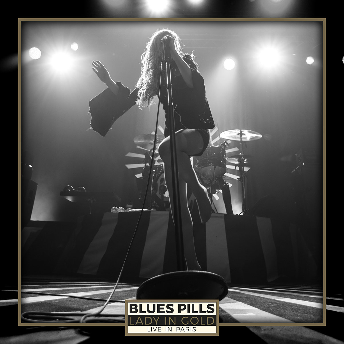 Blues Pills Blues Pills. Lady In Gold - Live In Paris (2 CD + DVD) erotic fantasies in uniform 2 cd dvd