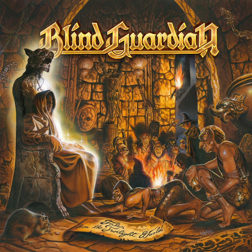 Blind Guardian Blind Guardian. Tales From The Twilight World (Black Vinyl) (LP) blind guardian blind guardian follow the blind white vinyl lp