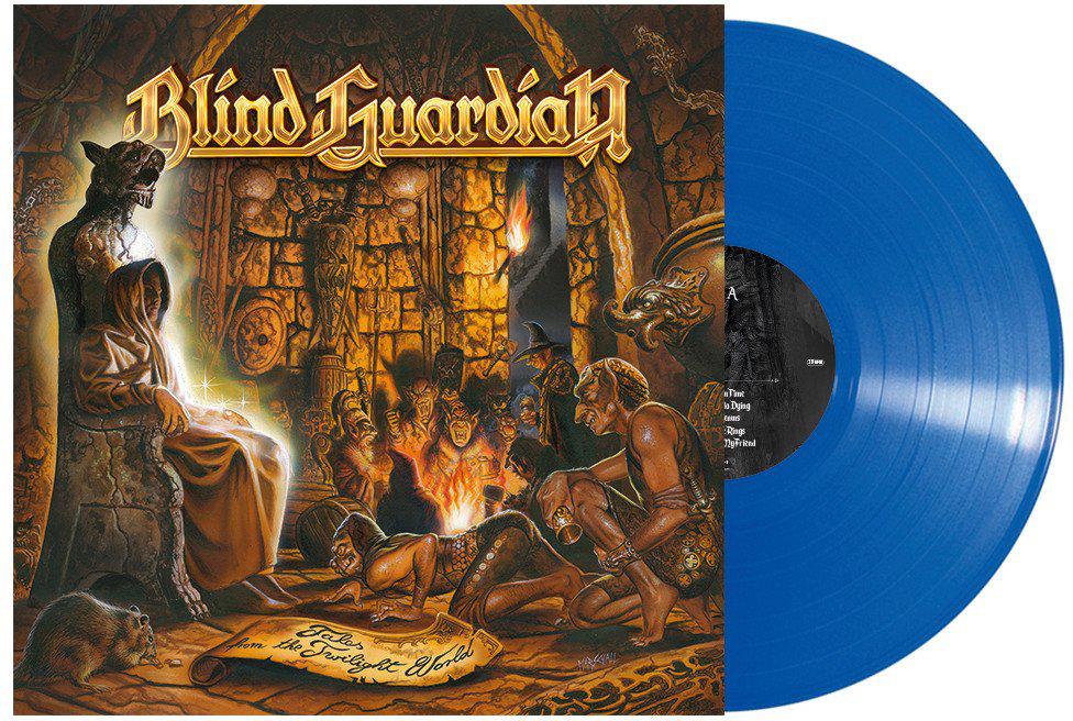 Blind Guardian Blind Guardian. Tales From The Twilight World (Blue Vinyl) (LP) blind guardian blind guardian follow the blind white vinyl lp