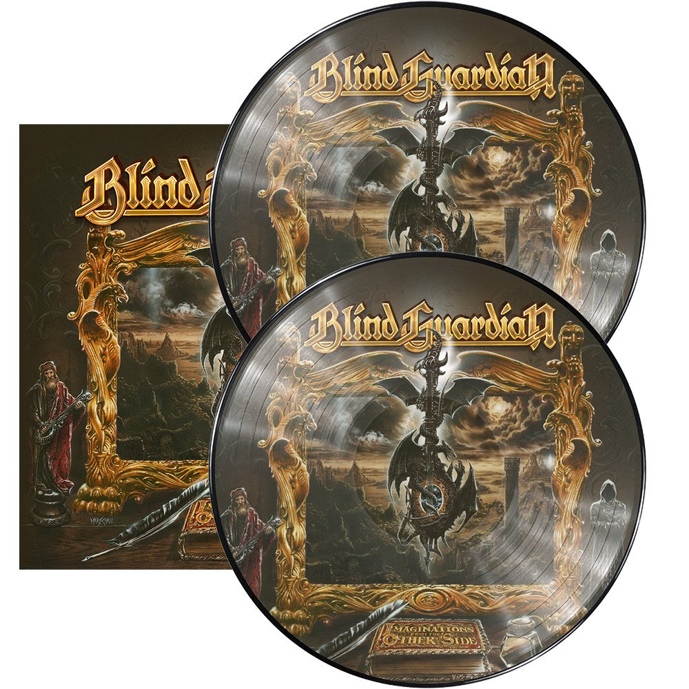 Blind Guardian Blind Guardian. Imaginations From The Other Side (Picture Vinyl) (2 LP) blind guardian blind guardian follow the blind white vinyl lp