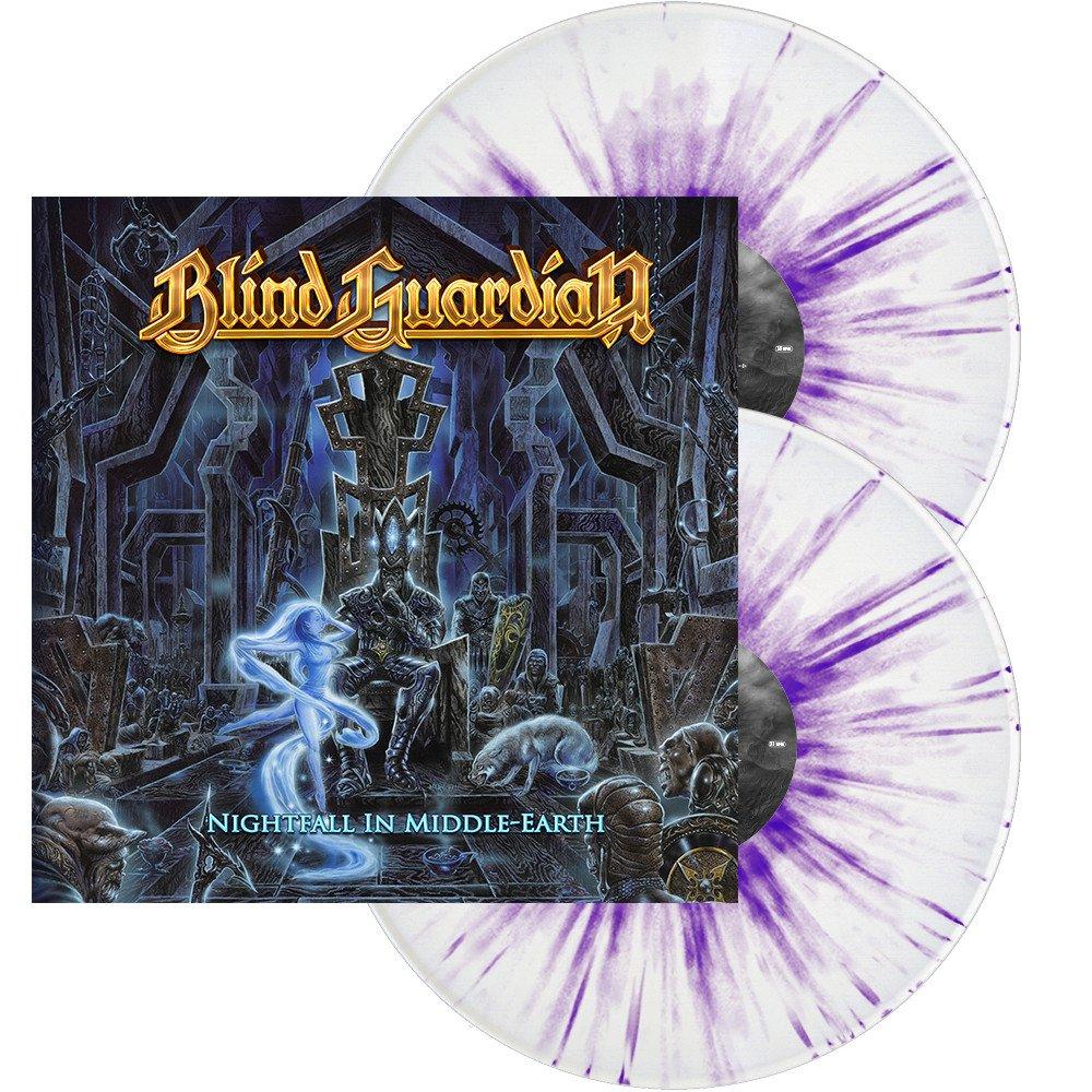 Blind Guardian Blind Guardian. Nightfall In Middle Earth (White/Purple Splatter Vinyl) (2 LP) blind guardian blind guardian follow the blind white vinyl lp