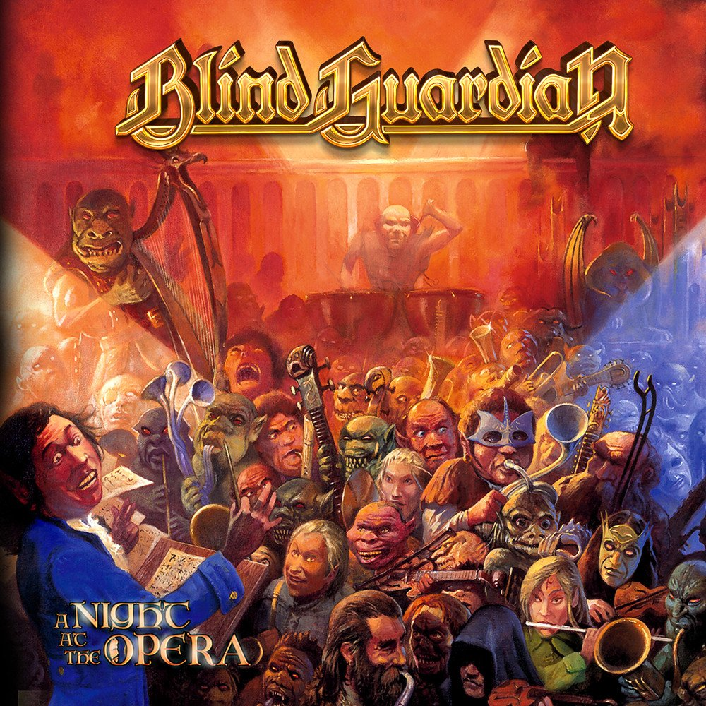 Blind Guardian Blind Guardian. A Night At The Opera (2 CD) a j behul the guardian of aurum