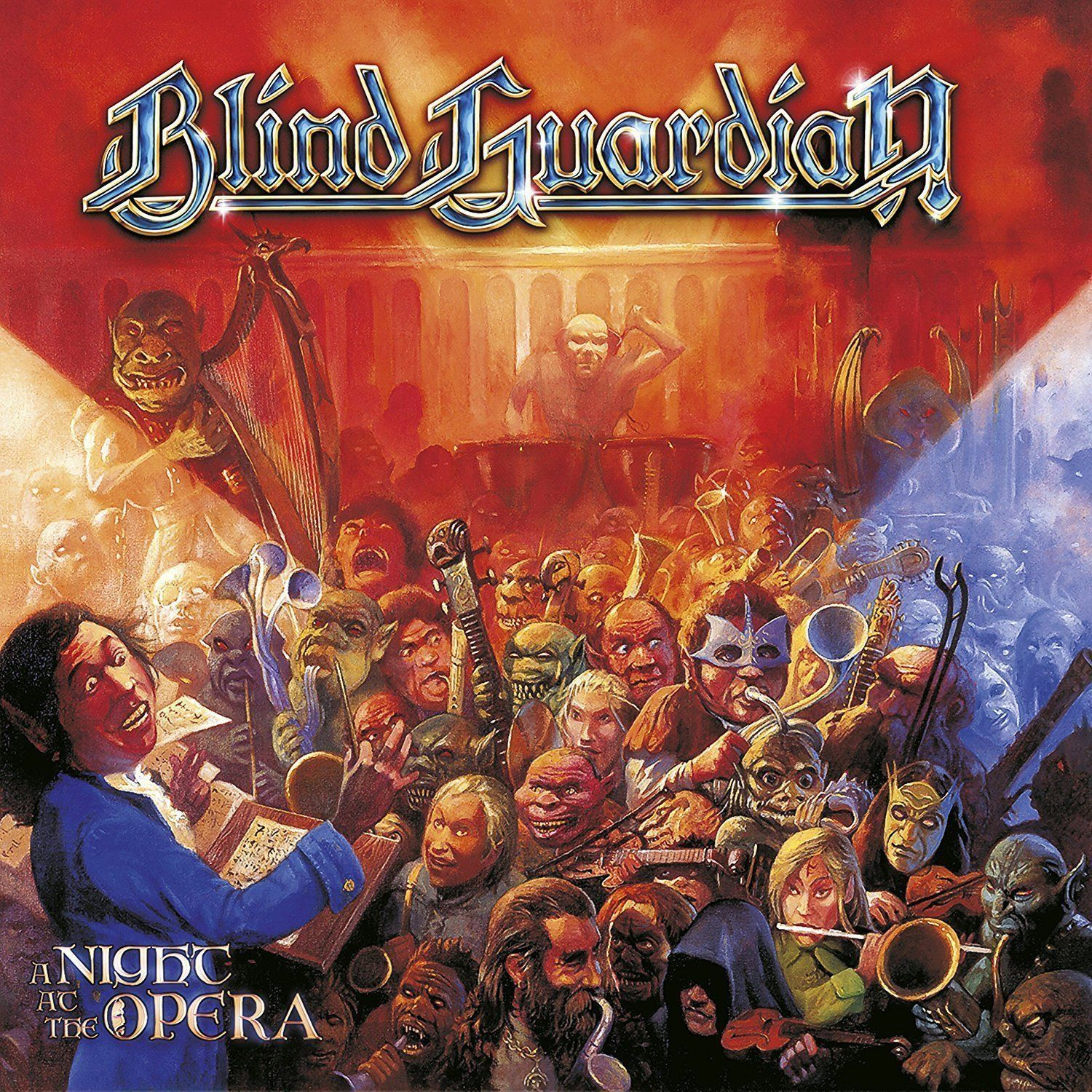 Blind Guardian Blind Guardian. A Night At The Opera (Black Vinyl) (2 LP) blind guardian blind guardian follow the blind white vinyl lp