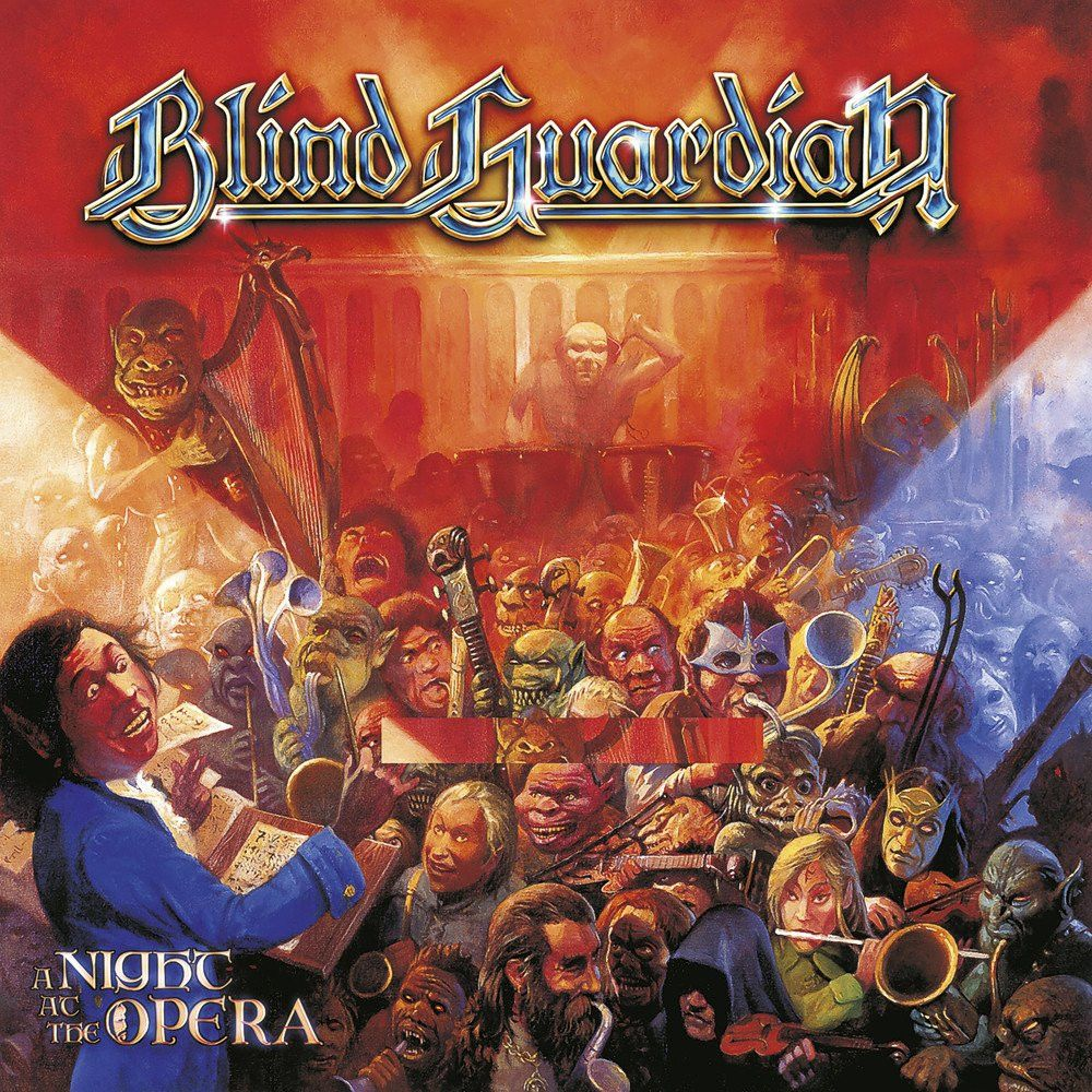 Blind Guardian Blind Guardian. A Night At The Opera (Yellow Vinyl) (2 LP) blind guardian blind guardian follow the blind white vinyl lp