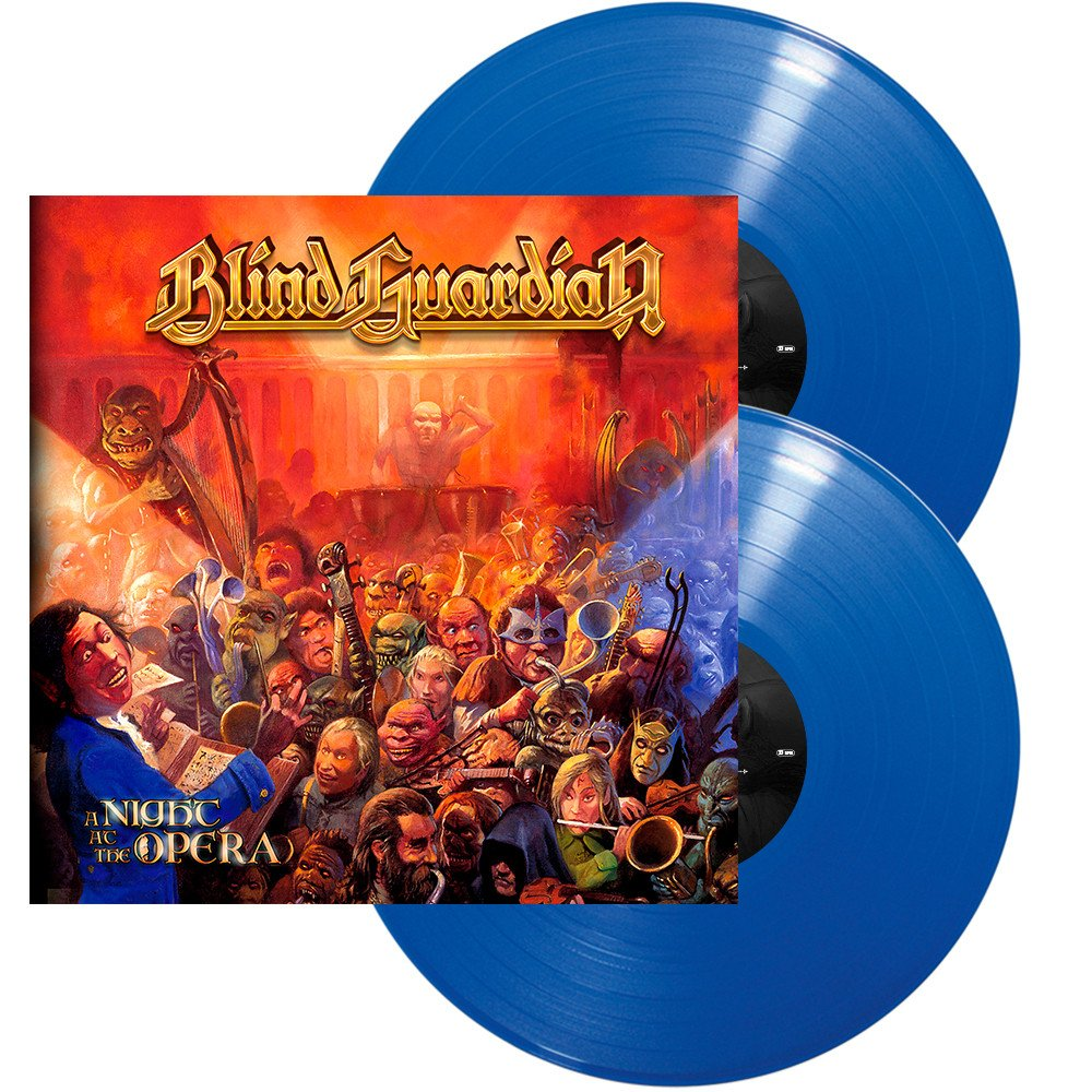 Blind Guardian Blind Guardian. A Night At The Opera (Blue Vinyl) (2 LP) blind guardian blind guardian follow the blind white vinyl lp