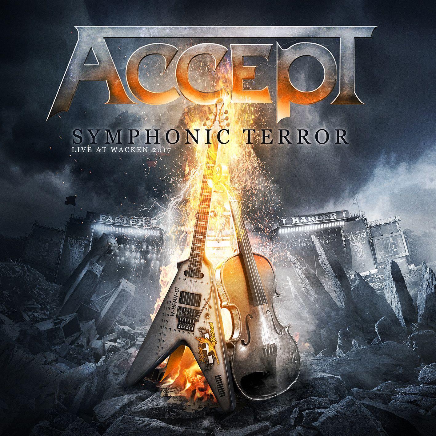 Фото - Accept Accept. Symphonic Terror - Live At Wacken 2017 (2 CD + Blu-ray) dream theater live at luna park blu ray