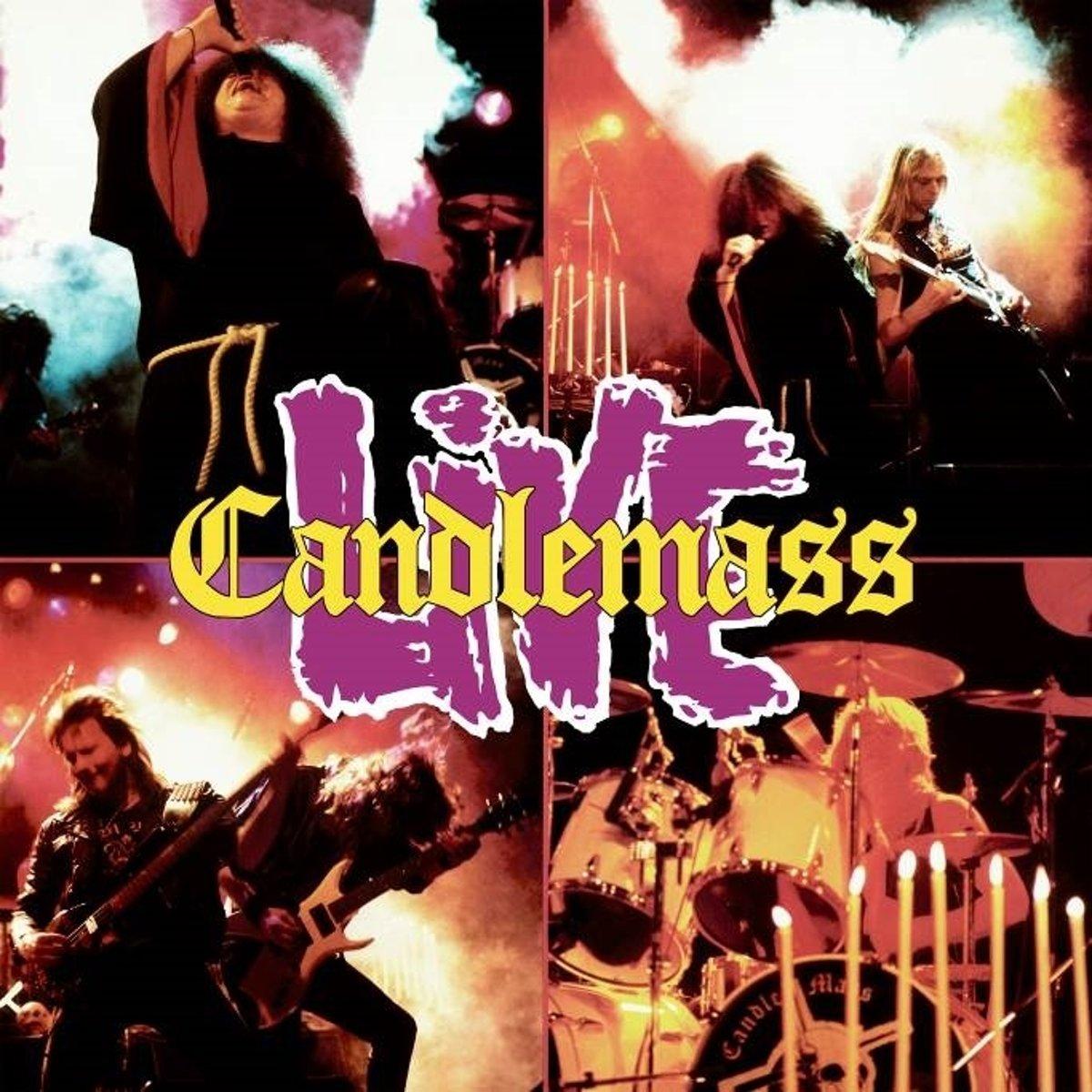 Candlemass. Candlemass Live (2 LP)