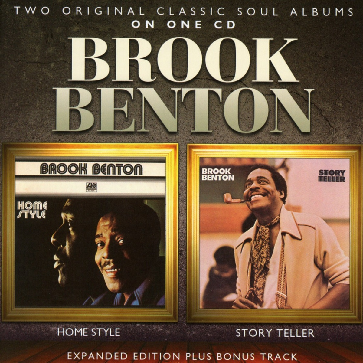 Brook Benton. Home Style / Story Teller: Expanded Edition