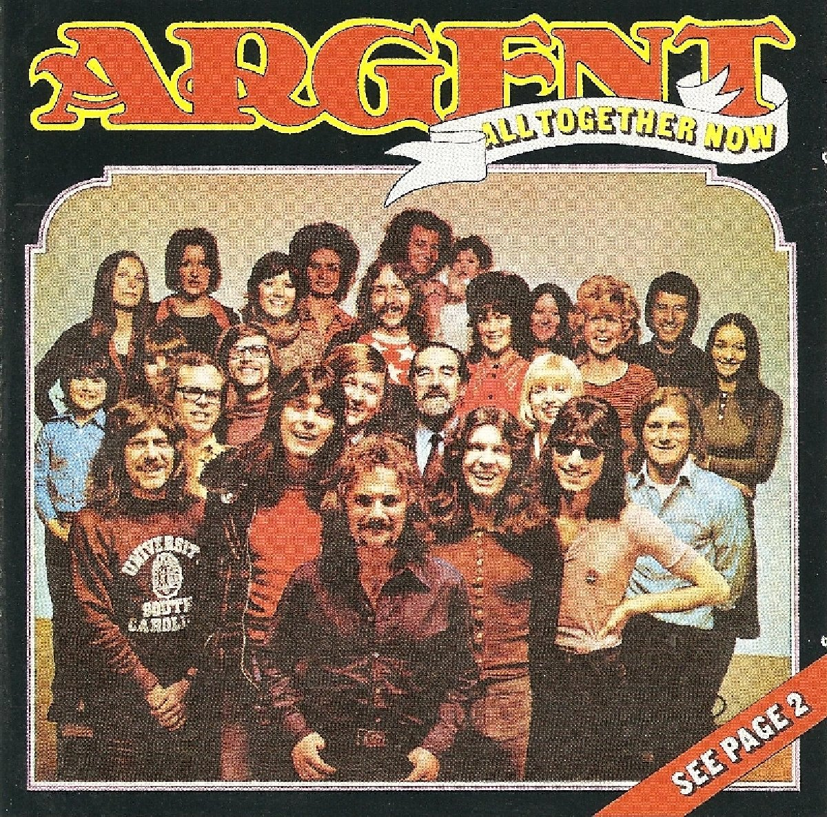 Argent. All Together Now