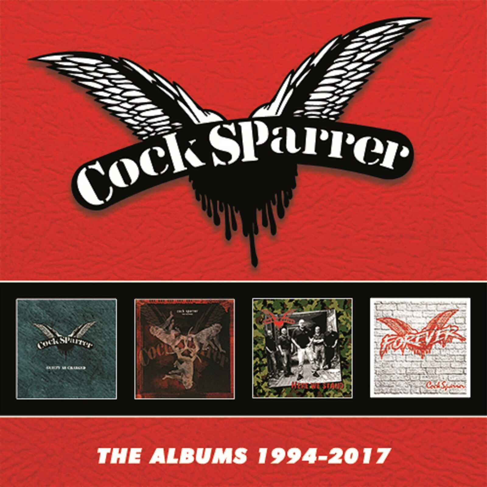 Cock Sparrer. The Albums 1994-2017 (4 CD)