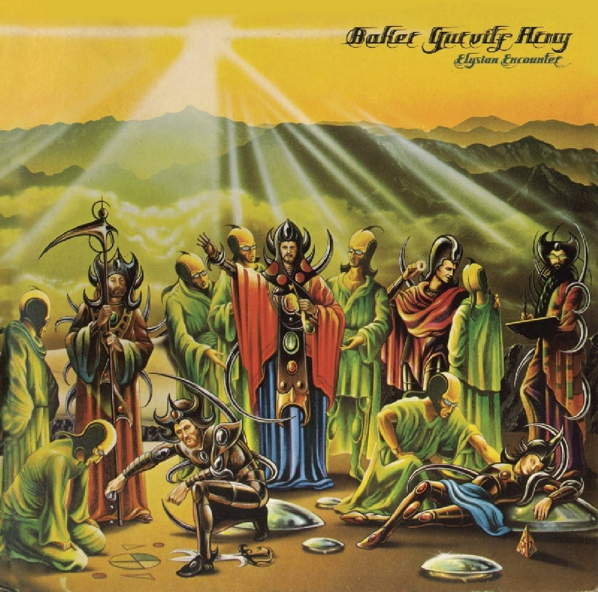 Baker Gurvitz Army Army. Elysian Encounter