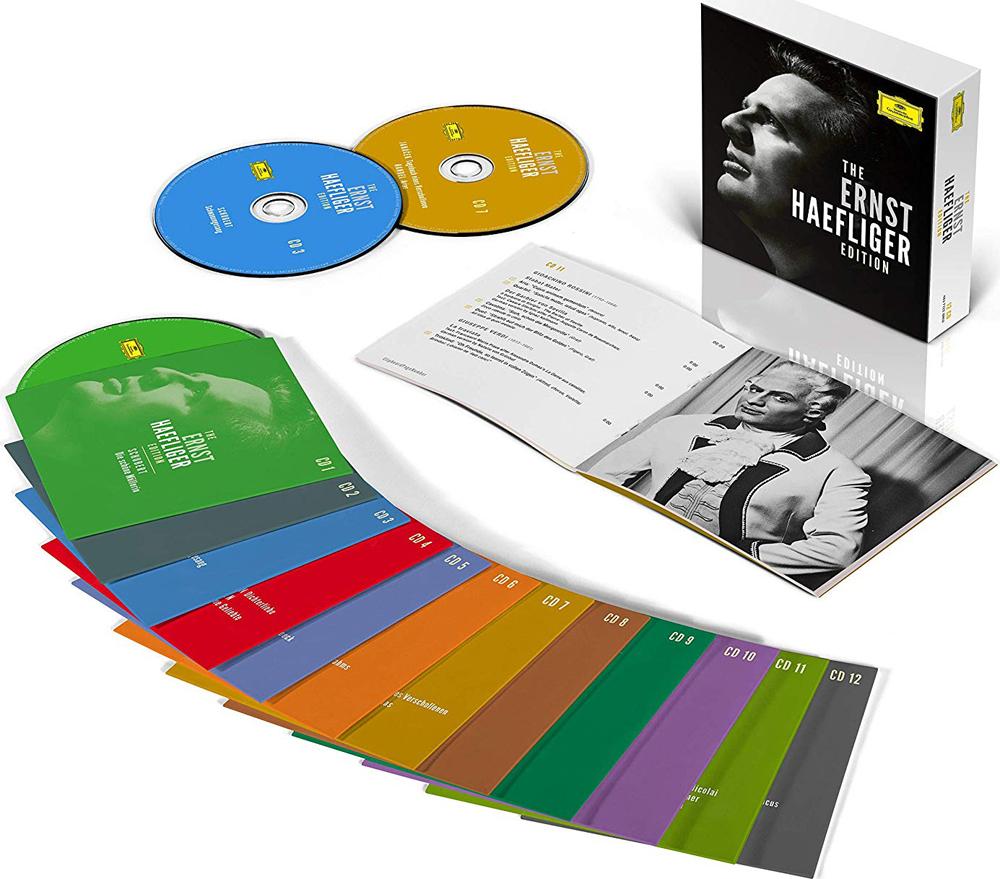 Ernst Haefliger. The Ernst Heafliger Edition (12 CD)