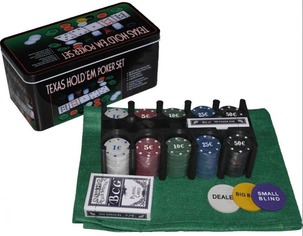 Набор для покера Perfecto Texas Hold'em Poker Set. DPC-200 набор для покера perfecto texas hold em poker set dpc 200