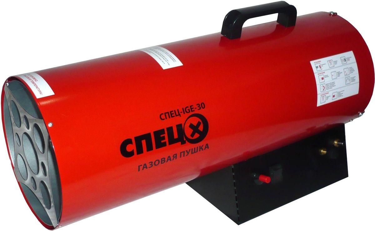 Фото - Тепловая пушка Спец IGE-30, красный тепловая газовая пушка master blp 33 m