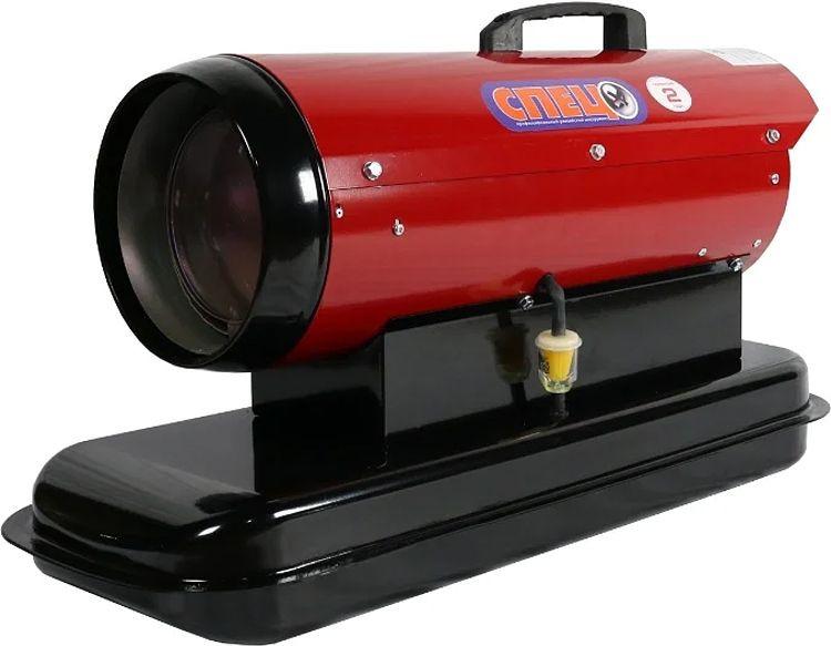 Тепловая пушка Спец ДК-15, красный