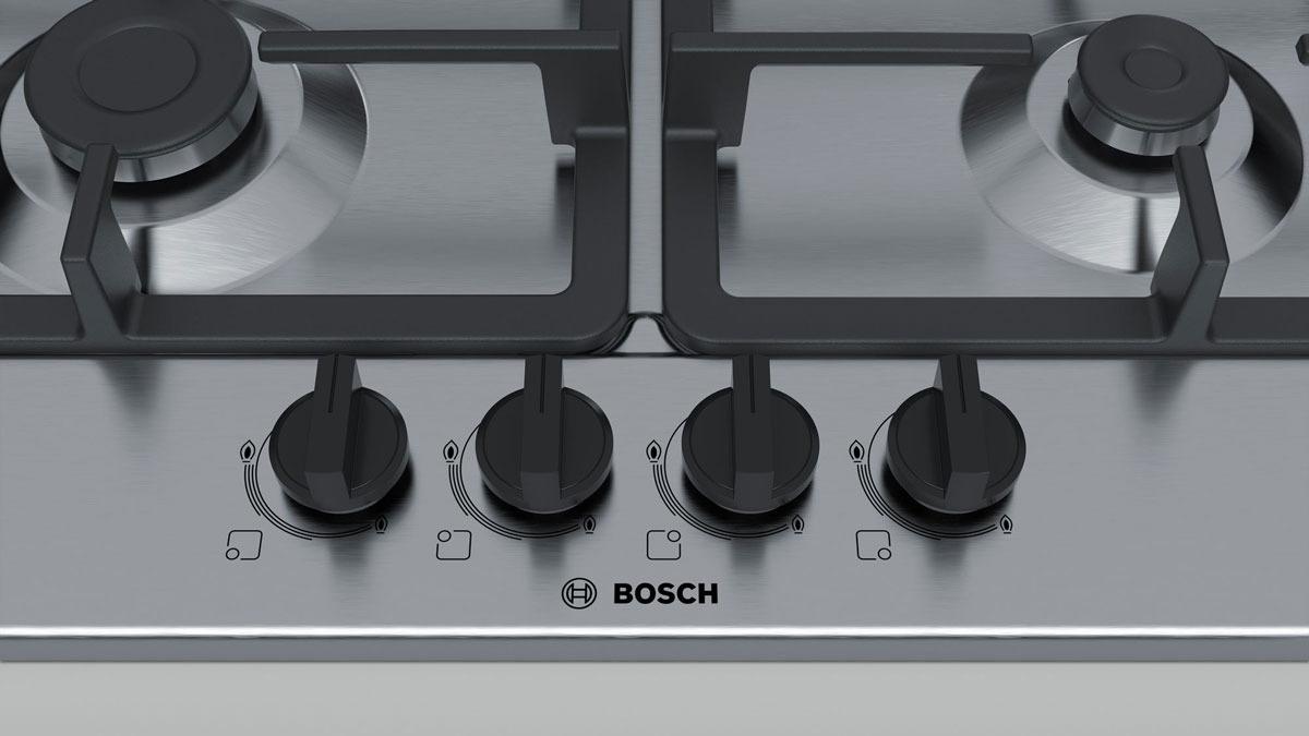Варочная панель Bosch PGP6B5B90R, серебристый Bosch