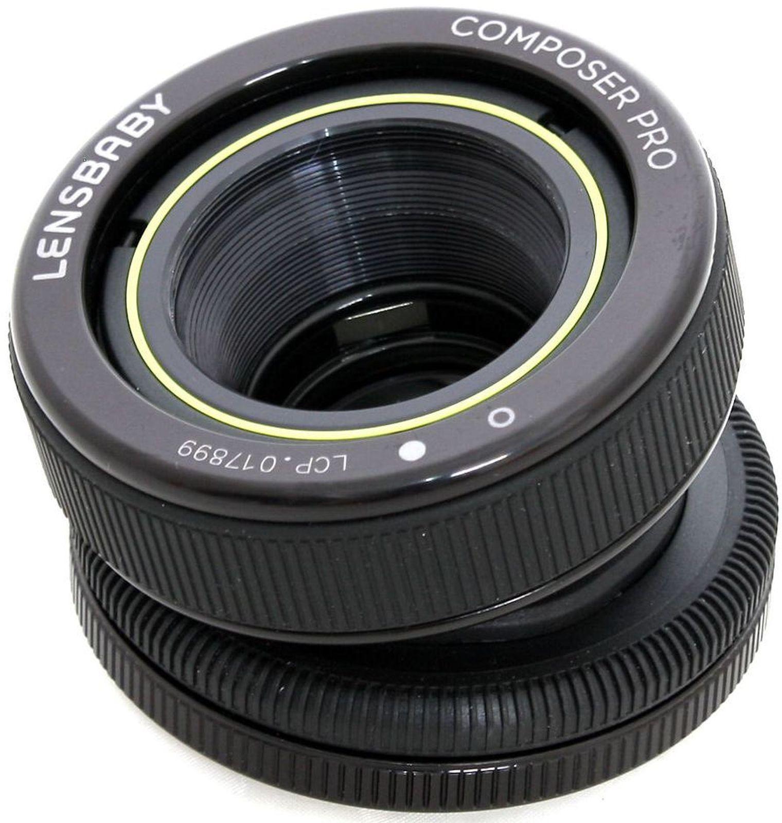 Объектив Lensbaby Composer Pro Double Glass 50mm f/4.0 для Pentax, черный