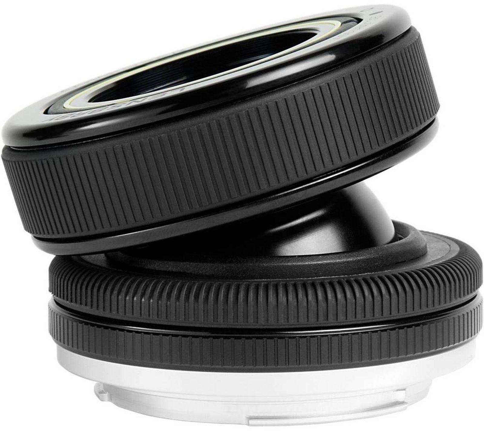 Объектив Lensbaby Composer Pro Double Glass 50mm f/4.0 для Samsung NX, черный