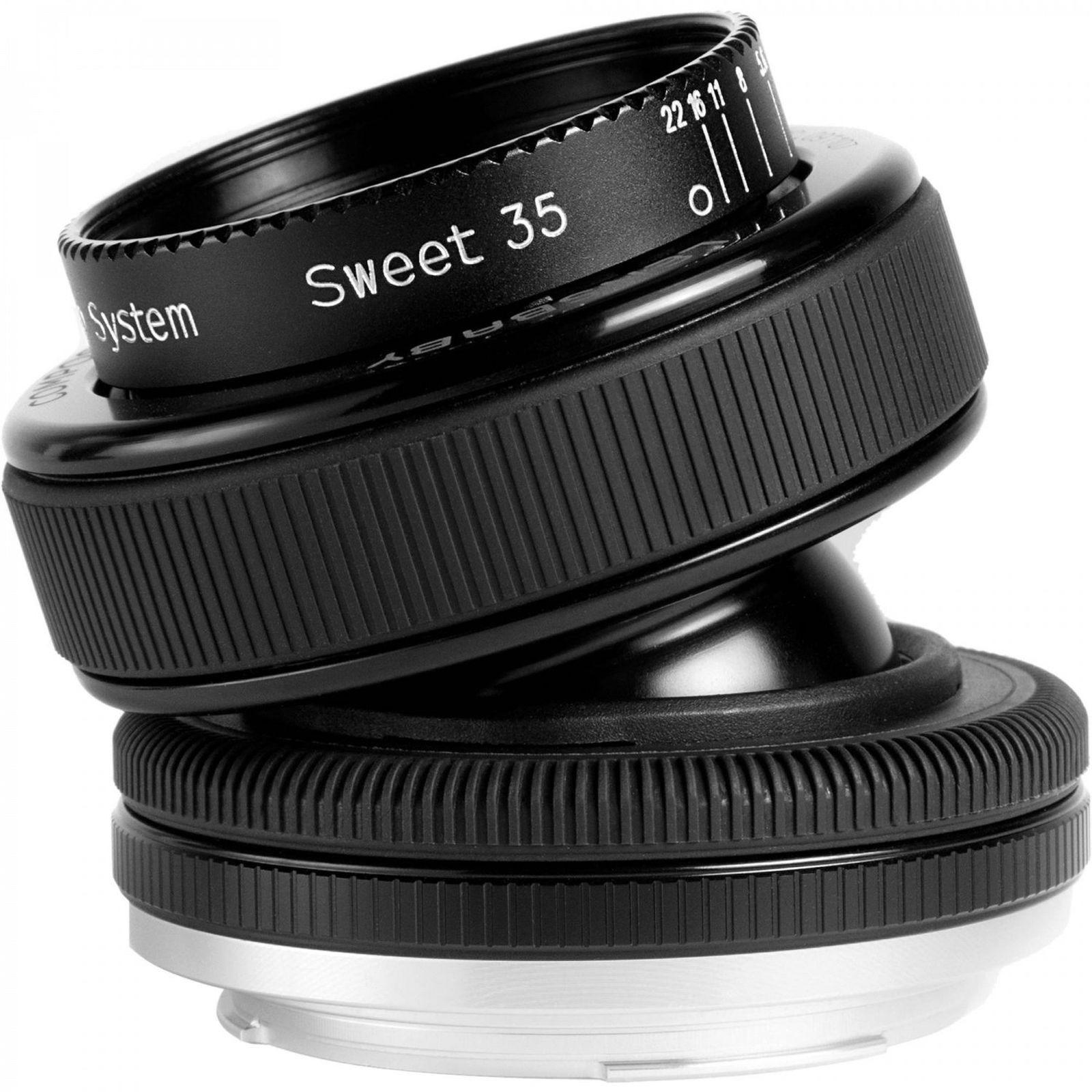 Объектив Lensbaby Composer Pro Double Glass 50mm f/4.0 для Sony/Minolta A, черный