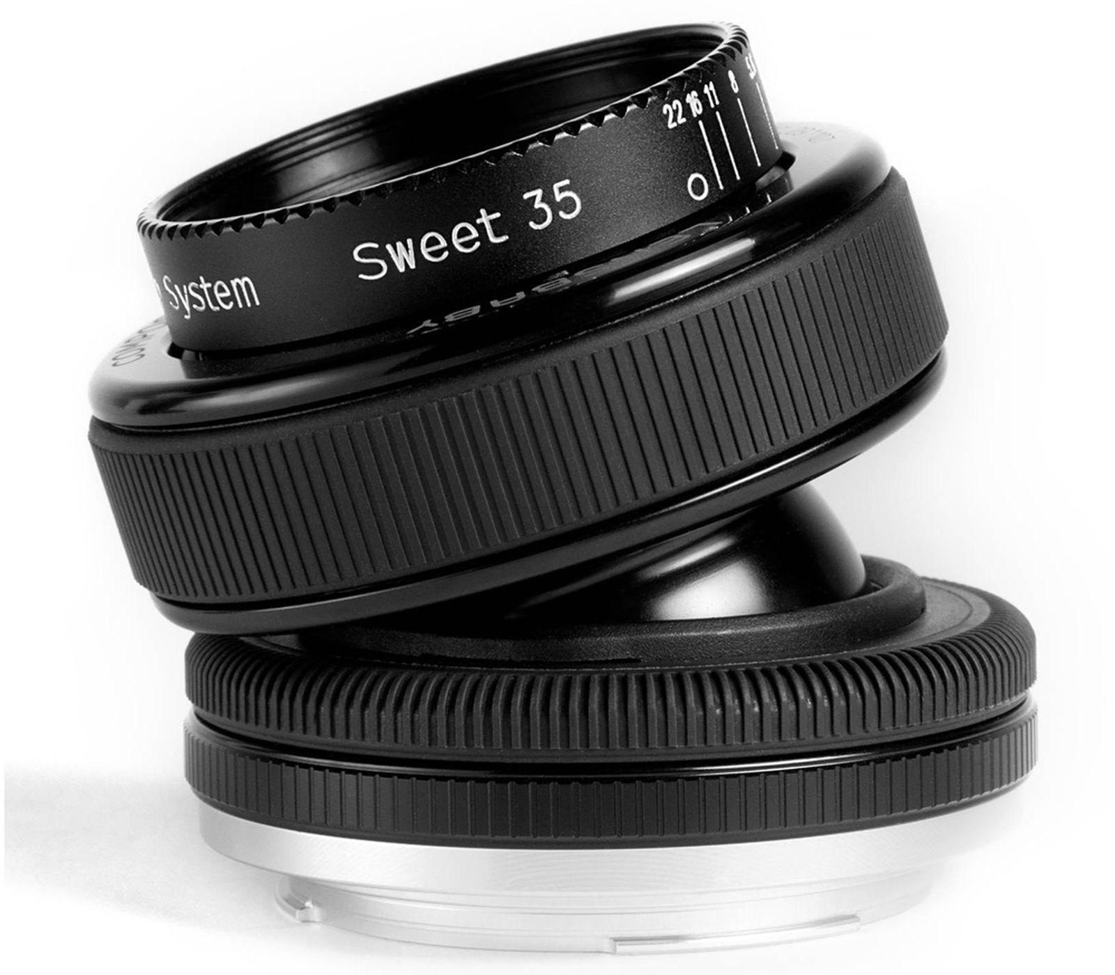 Объектив Lensbaby Composer Pro With Sweet 35 для Micro 4/3, черный